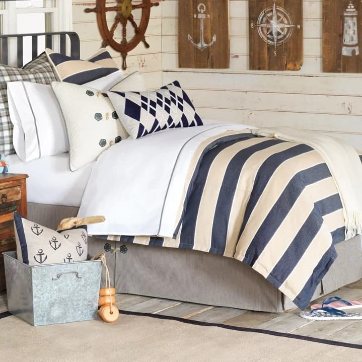 ryder-abbot-duvet-cover-collection-by-eastern-accens Coastal Bedding Sets and Beach Bedding Sets
