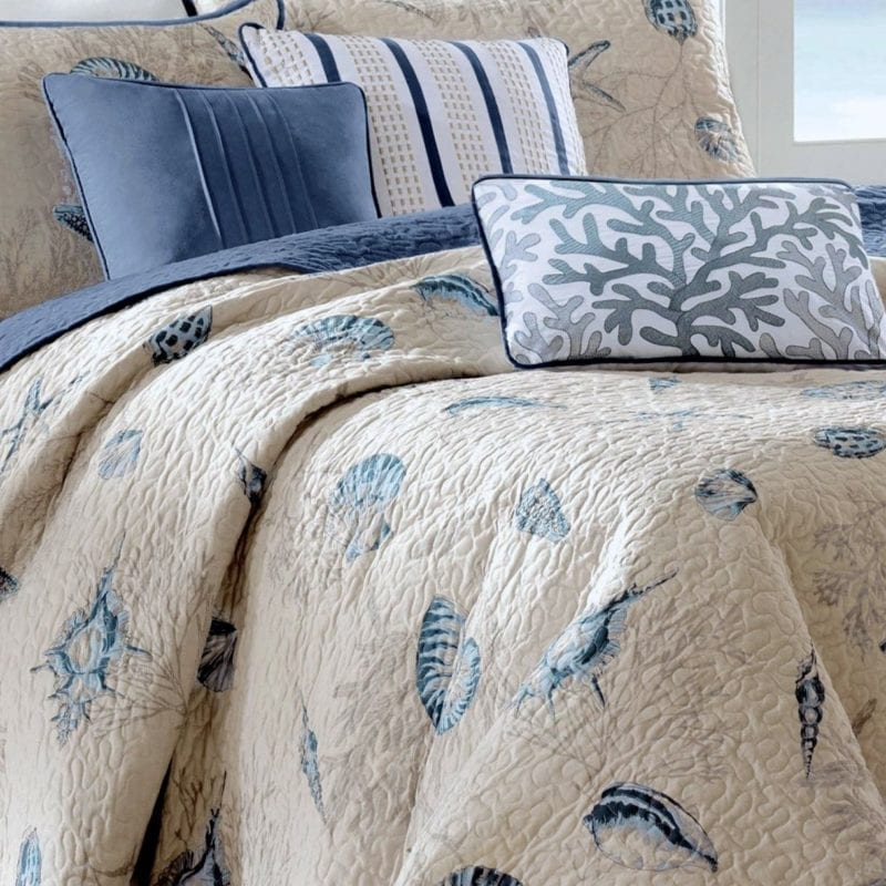 seashell-bedding-800x800 Coastal Bedding Sets & Beach Bedding Sets