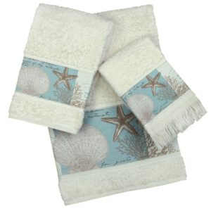 Beach Hand Towels & Coastal Hand Towels
