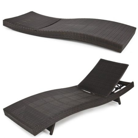 Best-Choice-Products-Outdoor-Patio-Furniture-PE-Wicker-Adjustable-Pool-Chaise-Lounge-Chair-0-450x450 Wicker Chaise Lounge Chairs