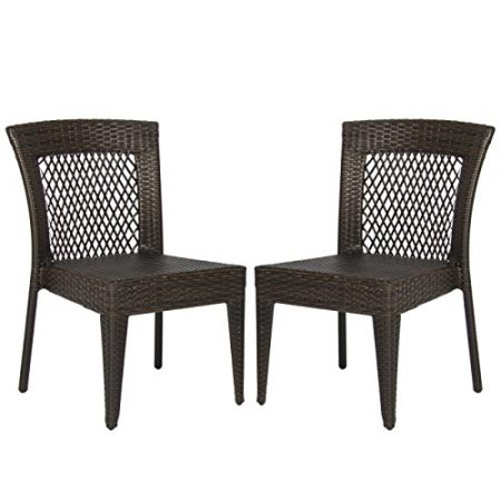 Best-Choice-Products-Outdoor-Wicker-Chairs-Patio-Dining-Backyard-Stackable-Garden-Furniture-Seat-Set-of-2-0-450x450 Wicker Chairs