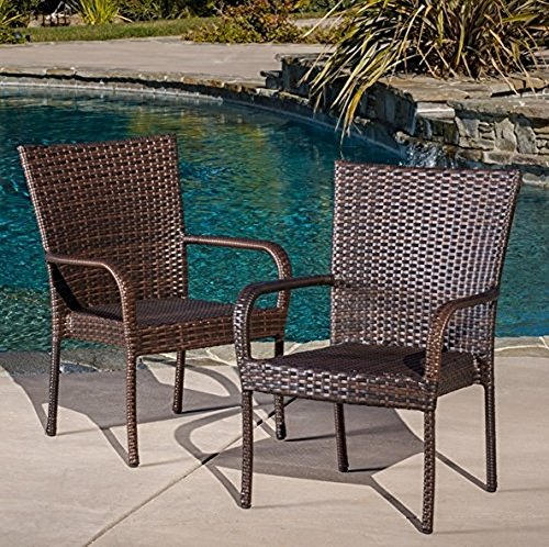 Best Selling Outdoor Wicker Chairs 2 Pack 0