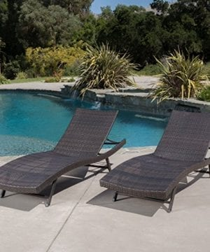 Eliana-Outdoor-Brown-Wicker-Chaise-Lounge-Chairs-Set-of-2-0-300x360 50+ Wicker Chaise Lounge Chairs