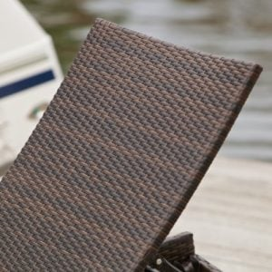 Lakeport Outdoor Adjustable PE Wicker Chaise Lounge Chair 0 1 300x300