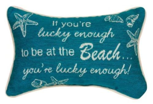 Manual-125-x-85-Inch-Decorative-Throw-Pillow-If-Youre-Lucky-Enough-0 Nautical Pillows and Nautical Throw Pillows