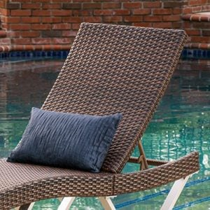 Manuela Outdoor Single Multibrown Wicker Chaise Lounge Chair 0 1 300x300