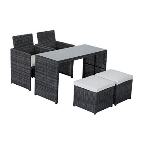 Outsunny-5-Piece-Outdoor-Rattan-Wicker-Furniture-Set-0-450x450 Best Outdoor Wicker Patio Furniture