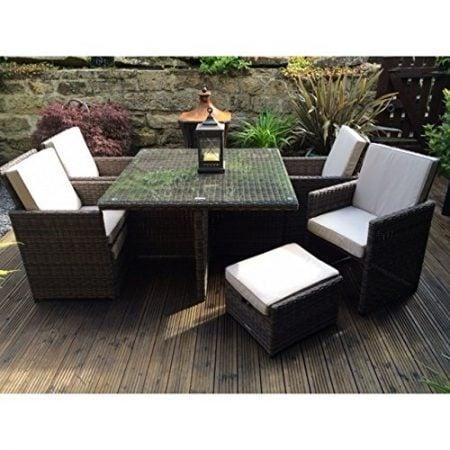Radeway-9-PCS11-PCS-Patio-Furniture-Dining-set-Garden-Outdoor-patio-furniture-sets-Wicker-Out-door-Patio-Cube-sets-W-Chocolate-Mix-Rattan-Sand-Cushions-0-450x450 Wicker Patio Dining Sets