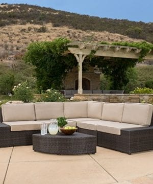 Reddington-Outdoor-Wicker-Sectional-Seating-Sofa-Set-with-Cushions-0-300x360 Best Wicker Patio Furniture Sets For 2020