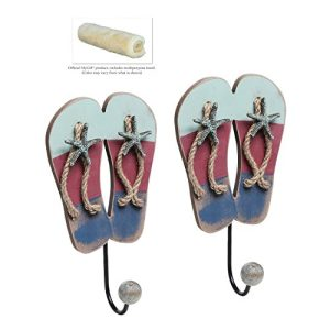 Tropical Flip Flop Wall Hooks