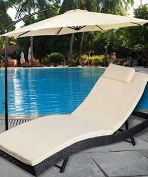 Tangkula-Adjustable-Pool-Chaise-Lounge-Chair-Outdoor-Patio-Furniture-Pe-Wicker-Wcushion-0-300x360 50+ Wicker Chaise Lounge Chairs
