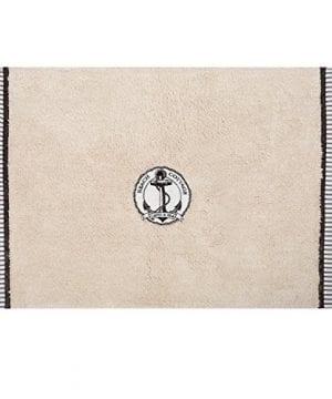 Zenna-Home-India-Ink-Beach-Cottage-Bath-Rug-Nautical-0-300x360 50+ Beach Hand Towels and Nautical Hand Towels