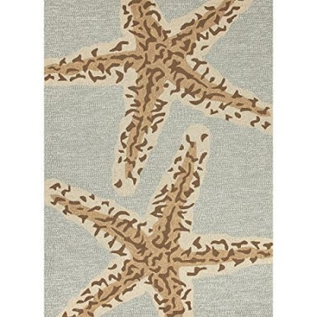 5-x-75-Ash-Gray-and-Sandstone-Tan-Grant-Sea-Star-Outdoor-Area-Throw-Rug-0-450x450 Beach Rugs and Beach Area Rugs