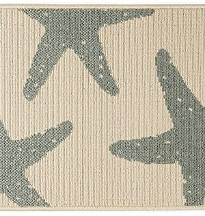 Bacova-Starfish-Accent-Rug-One-Size-0-300x316 Beach Rugs and Beach Area Rugs