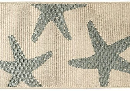 Bacova-Starfish-Accent-Rug-One-Size-0-450x316 Beach Rugs and Beach Area Rugs