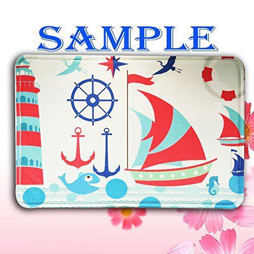 Custom Standard Store Retro Nautical Anchor Doormat Bathroom Kitchen Decor Rug Mat 236x157 0 0