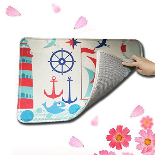 Custom Standard Store Retro Nautical Anchor Doormat Bathroom Kitchen Decor Rug Mat 236x157 0 1