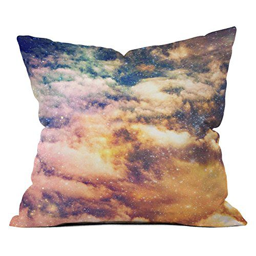 DENY Designs Shannon Clark Love Under The Stars Outdoor Throw Pillow 0