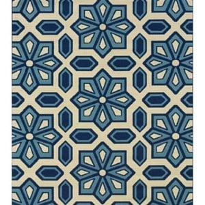 Granville-Rugs-Coastal-IndoorOutdoor-Area-Rug-0-300x300 Best Nautical Rugs and Nautical Area Rugs