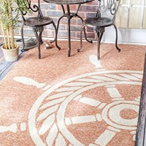 Handmade Nautical Ship Wheel Indoor Outdoor Area Rugs 0 0 300x300