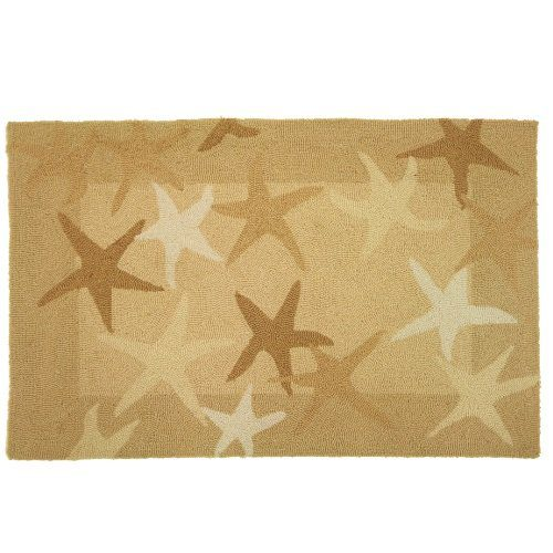 Homefires Accents Starfish Field Indoor Rug 22 Inch By 34 Inch 0