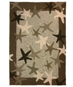 Homefires-Starfish-Field-3-Feet-by-5-Feet-Indoor-Outdoor-Hand-Hooked-Area-Rug-0-300x360 Starfish Rugs and Starfish Area Rugs