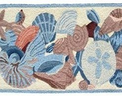 Jellybean-Shells-And-Coral-Accent-Area-Rug-0-247x194 Beach Themed Jellybean Area Rugs