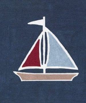 Nautical Nights Sailboat Accent Floor Rug By Sweet Jojo Designs 0 300x360