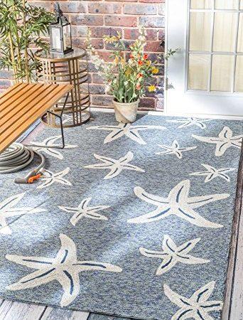 Nuloom Catalina Indoor Outdoor Starfish Area Rug