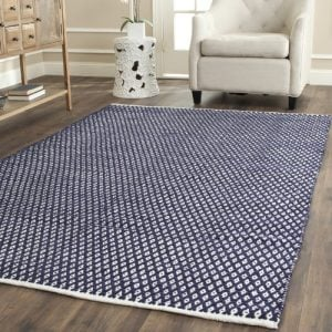 Safavieh-Boston-Collection-BOS685D-Handmade-Navy-Cotton-Area-Rug-4-feet-by-6-feet-4-x-6-0-300x300 Best Nautical Rugs and Nautical Area Rugs