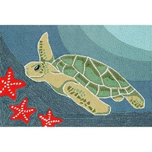 Sea Turtle Ocean Rug 30 X 48 0 300x300