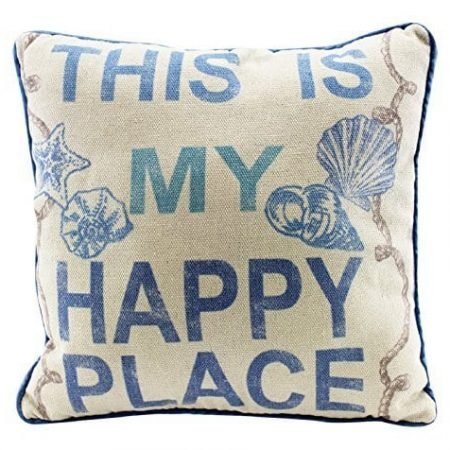 This-Is-My-Happy-Place-12-Inch-Natural-Decorative-Beach-Throw-Pillow-0-450x450 Nautical Pillows and Nautical Throw Pillows