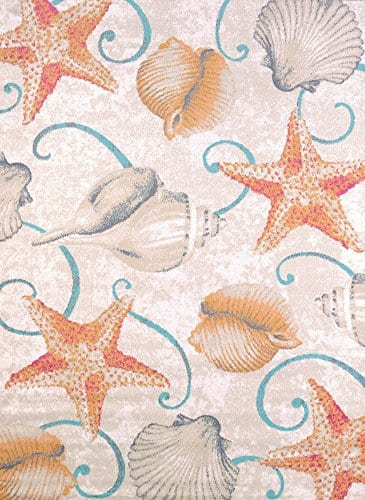 United-Weavers-Area-Rugs-Regional-Concepts-541-50417-Brown-Curls-Curves-Carpet-0 Beach Rugs and Beach Area Rugs