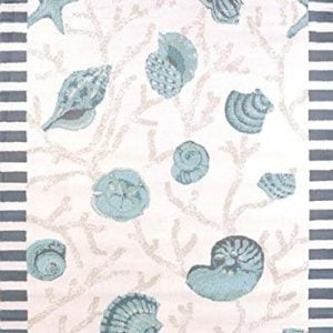 United Weavers Area Rugs Regional Concepts Rugs 541 50660 Shells Blue 0 300x300