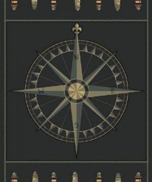 United-Weavers-Contours-Area-Rug-510-24966-Compass-Rose-Smoke-Blue-Compass-Lighthouse-0-300x360 200+ Nautical Rugs and Nautical Area Rugs