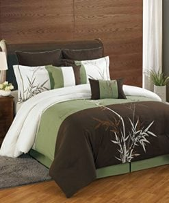8-Piece-Bamboo-Embroidered-Comforter-Set-0-247x296 Tropical Bedding Sets