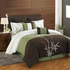 8 Piece Bamboo Embroidered Comforter Set 0 300x300