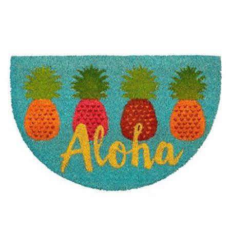 Aloha-Pineapple-Coir-Doormat-18-x-28-0-450x450 Beach Doormats and Coastal Doormats