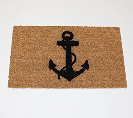 Anchor-Doormat-0-450x400 Nautical Anchor Decor