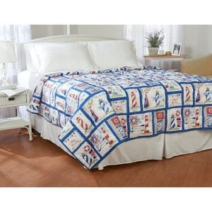 Ashley Cooper Nautical Lighthouse Quilt In Queen Size 0 300x300