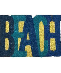 Beach-Shaped-Nautical-Coir-Doormat-18-x-28-0-247x296 Beach Doormats and Coastal Doormats