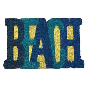 Beach Shaped Nautical Coir Doormat 18 X 28 0 300x300