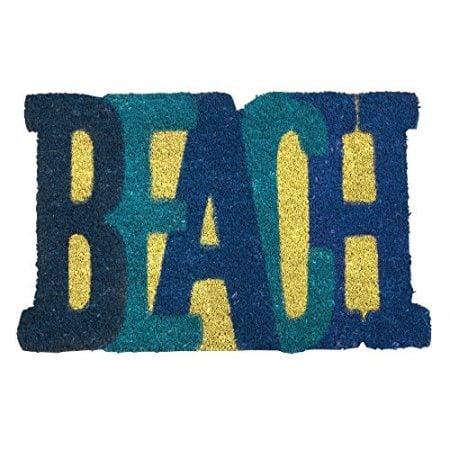 Beach-Shaped-Nautical-Coir-Doormat-18-x-28-0-450x450 Beach Doormats and Coastal Doormats