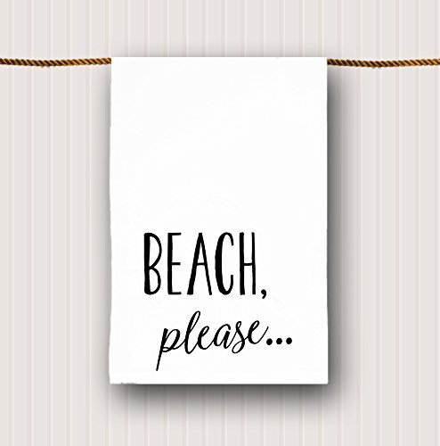 Beach Tea Towel Beach Please 0