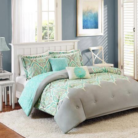 Better Homes And Gardens Kashmir 5 Piece Bedding Comforter Set FULLQUEEN 0