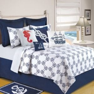 C-F-Enterprises-Knotty-Buoy-Quilt-0-300x300 Nautical Bedding Sets & Nautical Bedspreads