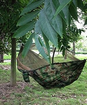 Dayincar-Portable-High-Strength-Parachute-Fabric-Hammock-Hanging-Bed-With-Mosquito-Net-For-Outdoor-Camping-Travel-0-300x360 100+ Best Outdoor Hammocks For 2020