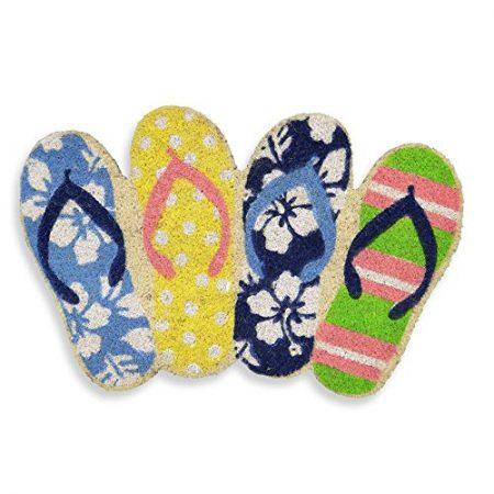 Flip-Flop-Shaped-Door-Mat-Eco-Friendly-Coir-Mat-Coir-Mats-Beach-Mats-0-450x450 Beach Doormats and Coastal Doormats
