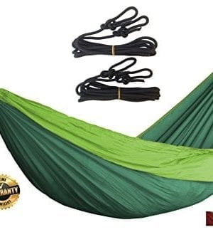 Golden-Eagle-Single-PARACHUTE-SILK-Portable-Camping-HAMMOCK-SET-Premium-Quality-0-300x333 100+ Best Outdoor Hammocks For 2020
