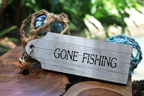 Gone-Fishing-Door-Tag-Wood-Sign-8-Rustic-Coastal-snd25062-0 The Best Wooden Beach Signs You Can Buy